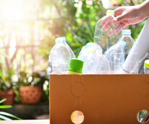 Como é feita a reciclagem de polietileno?